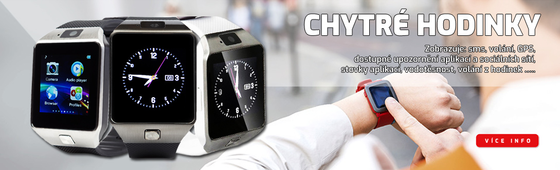 Chytré hodinky pro každou příležitost