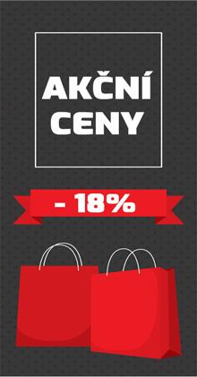 Akční zboží -18% do vyprodání zásob