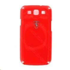 FESIHCS3RE Ferrari Zadní Kryt Metallic Red Scuderia pro Samsung Galaxy S3 i9300