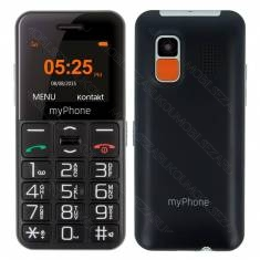 myPhone HALO EASY Black CZ